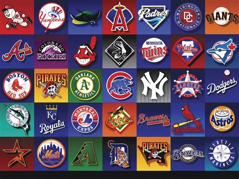 baseball team colors which major league baseball team has the best logo
