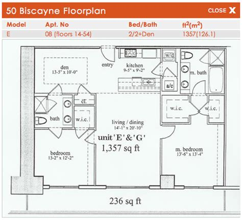 50 biscayne floor plans 50 biscayne miami condos for sale and rent bogatov realty