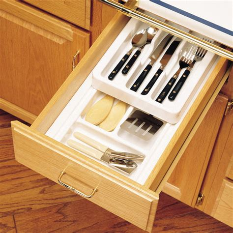 Two Tier Drawer Organizer by Drawer Organizers Rev A Shelf 2 Tier Insert Cutlery
