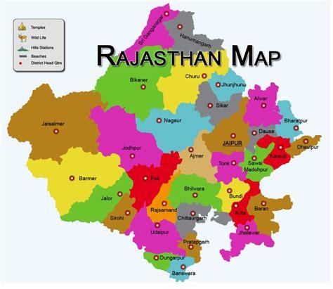 rajsthan maps map of rajasthan districtwise rajasthan map pilgrimage