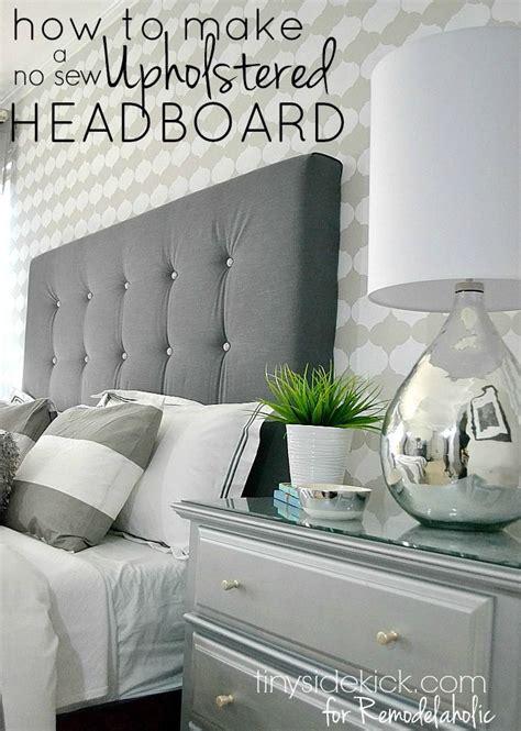 diy tufted headboard ideas how to make a headboard with fabric best 25 diy upholstered headboard ideas on diy