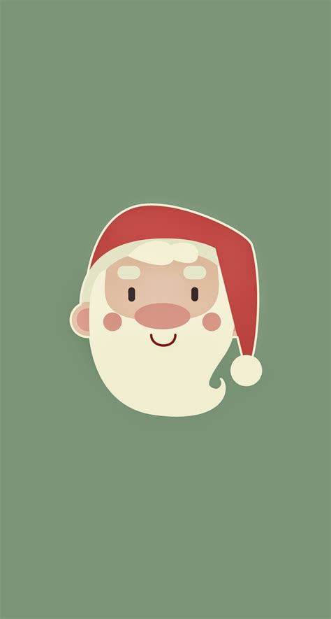 cute wallpaper hd for iphone 6 cute santa claus minimal illustration iphone 6 plus hd