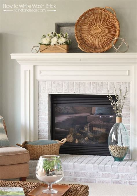Transform Fireplace by Transform And Freshen Up The Look Of Your Brick Fireplace
