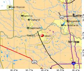 tomball map tomball tx 77375 profile population maps real