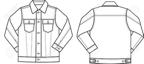 jacket design sketch drawn coat denim jacket pencil and in color drawn coat