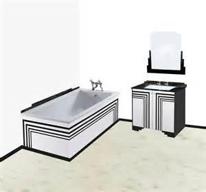 new deco skyscraper style bathroom vanity unit