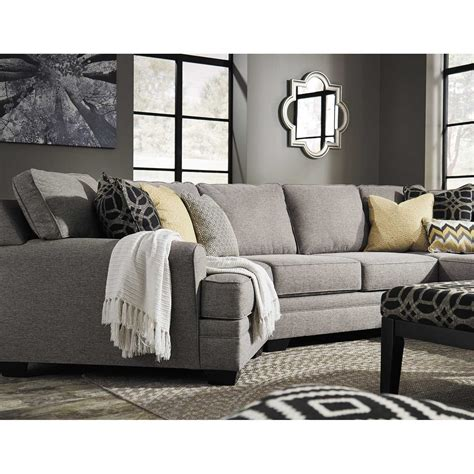 pewter sectional cresson 4 piece pewter sectional with laf chaise 5490716