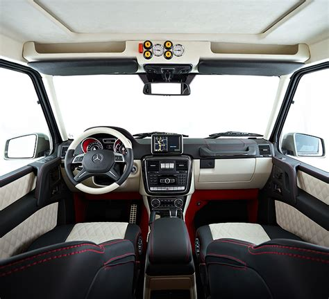 2014 mercedes g63 amg 6x6 interior rear seats photo