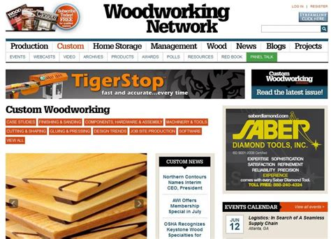 woodworkers network woodworking network relaunches website woodworking network