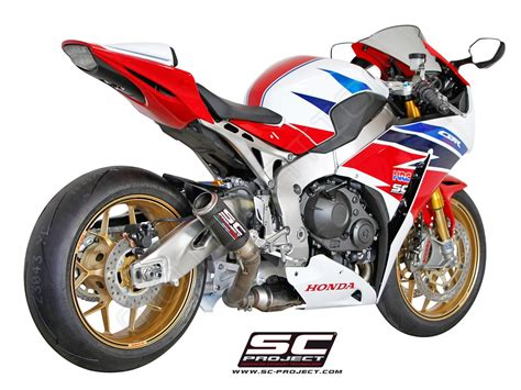 Sc Project Cbr 1000 Carbon Rr Series Titanium 2012 honda cbr1000rr sp 2014 series cr t slip on exhaust by sc project