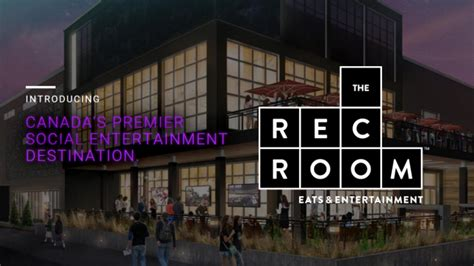 the rec room cineplex bags roundhouse park location for new rec room 187 playback