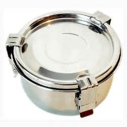 Canister Kitchen Set by Airtight Watertight Stainless Steel Food Storage