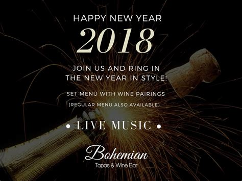 new year 2018 events cap cana upcoming events bohemian s happy new year 2018