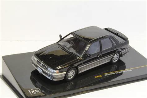 Ixo Mitsubishi Galant Black Skala 143 mitsubishi galant vr 4 1990 ixo 1 43 металл аукцион