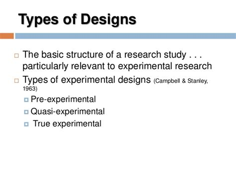 the design is quasi experimental types of quasi experimental designs in psychology home