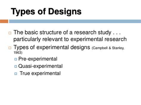 experimental design idea types of quasi experimental designs in psychology home