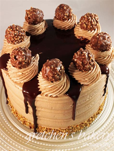 chocolate cake ferrero rocher ferrero rocher truffle cake gretchen s bakery les