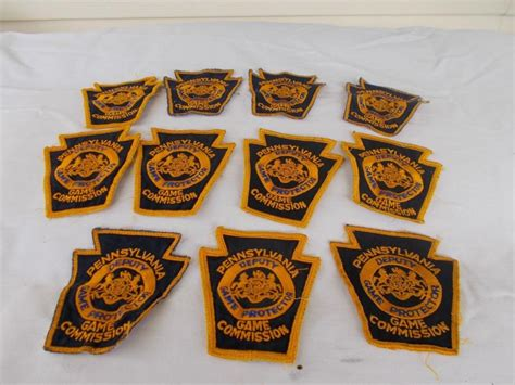 pa fish and boat commission deputy pa game commission patches for sale classifieds