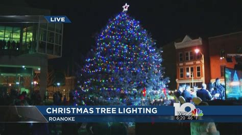 lights roanoke va 2015 downtown roanoke tree lighting