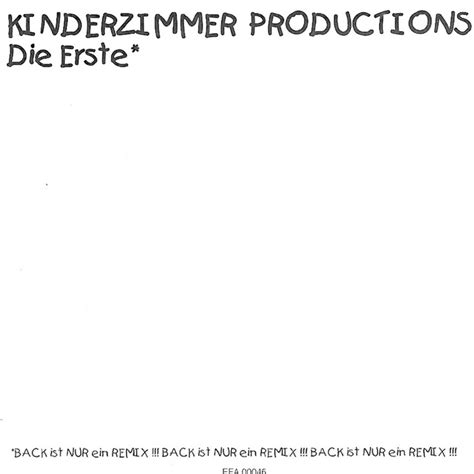 kinderzimmer productions irgendjemand muss doch kinderzimmer productions twoinone bibkunstschuur