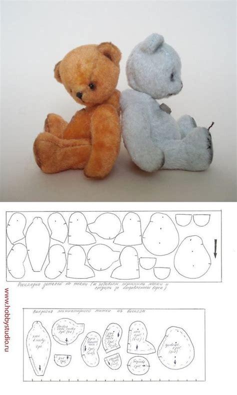 pattern bear pinterest mini medica dolls pinterest minis