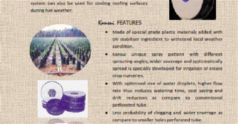 Furadan Malaysia pt norrisha indonesia kansui plastic untuk irigasi