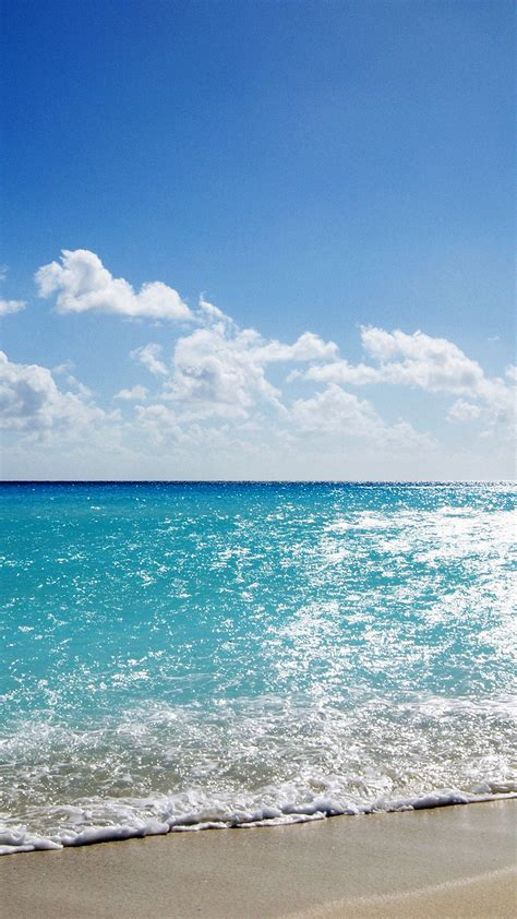 mj sea water ocean sky sunny nature papersco
