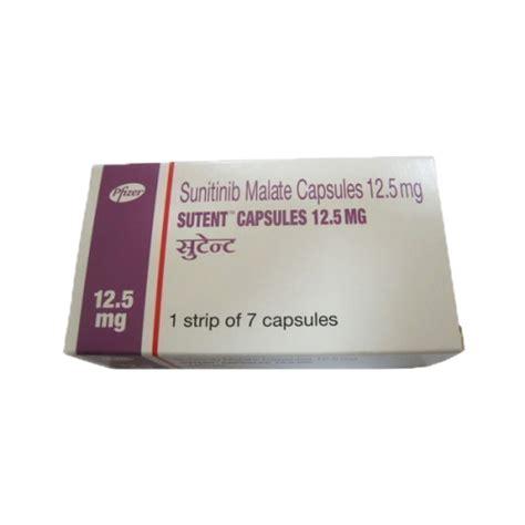Sutent Sunitinib Malate 12 5 Mg Isi 30 Kapsul Botol suninat sunitinib malate 50 mg