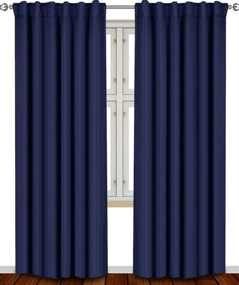 Blue Blackout Curtains Best 25 Navy Blue Curtains Ideas On Pinterest Navy Curtains Bedroom Navy Master Bedroom And