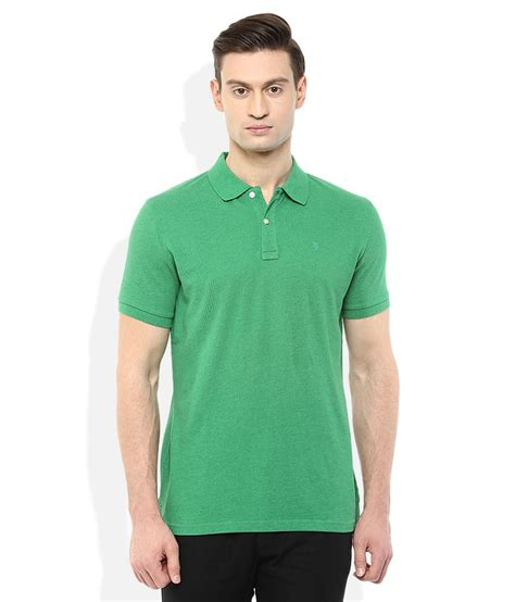 T Shirt Aoe 29 Bv celio green polo neck t shirt buy celio green polo neck t shirt at low price snapdeal