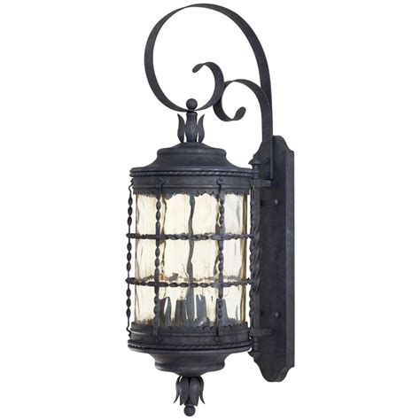 Outdoor Lighting Sales The Great Outdoors By Minka Lavery Mallorca 4 Light Iron Outdoor Wall Mount 8882 A39