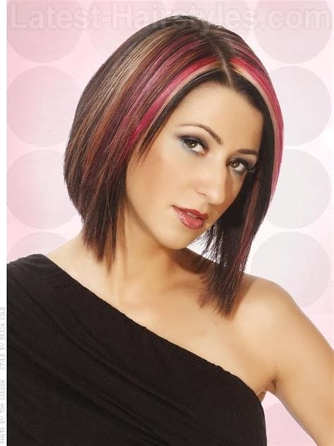 pink highlights hair older women 17 best images about hair on pinterest bobs my hair and