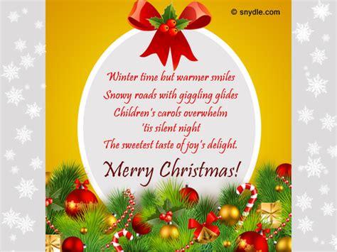 christmas card sayings  mother  law sinter