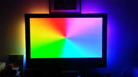ambient light behind tv tv ambient light youtube