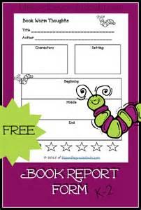 printable book report form free printable book report form so cute book reports for free best agenda templates