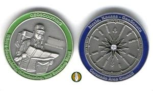 (tb140th) hoxie scout geocoin hoxie scout geocoin