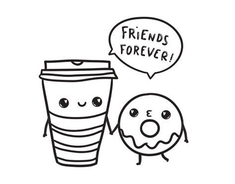 imagenes tumblr png para colorear dibujo de caf 233 y donut para colorear dibujos net