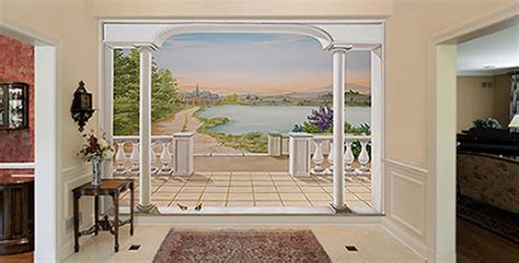 d 233 coration murale design ou trompe l oeil belmon d 233 co