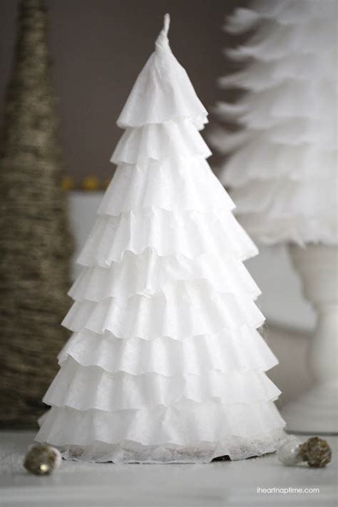 DIY $1 coffee filter trees   I Heart Nap Time