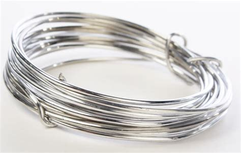 Silver Aluminum Craft Wire   Wire   Rope   String   Basic Craft Supplies   Craft Supplies