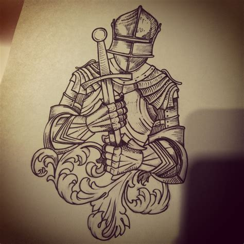 knight tattoo designs 25 best ideas about on armor