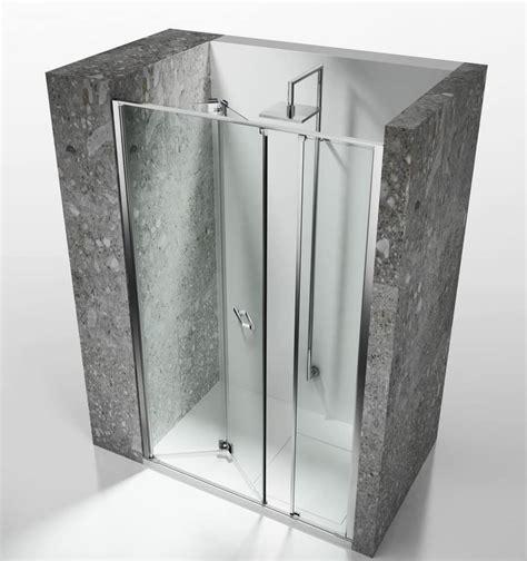 box doccia senza telaio cabina doccia senza telaio per installazioni in nicchia