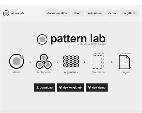 pattern lab atomic design going atomic for better highered responsive websites
