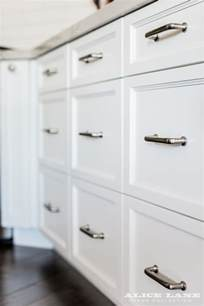 Handles For Kitchen Cabinets And Drawers White Kitchen With Navy Blue Island Reno Ideas Home Bunch Interior Design Ideas