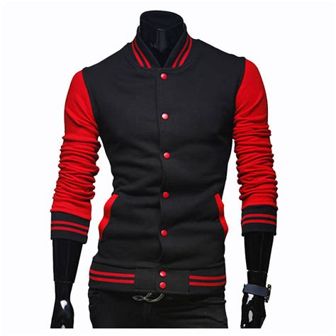 jacket design new new baseball jacket men 2016 fashion design hit color mens