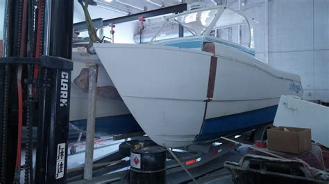 boating accident prowler renaissance prowler crash salvage and repair the hull