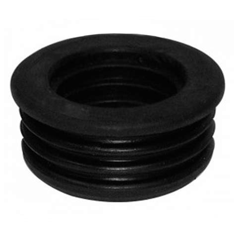Rubber Bungs Plumbing by 110mm Pushfit Soil Pipe 40mm Rubber Bung Waste Adaptor Black
