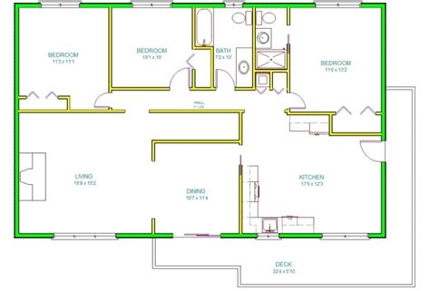 autocad 2d plan images house floor plans