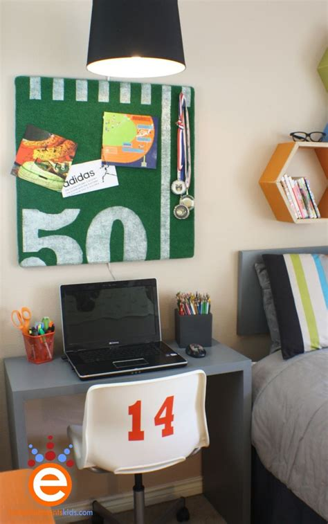 bulletin boards for rooms bulletin board ideas football themes embellishments bedroom 300 00 makeover
