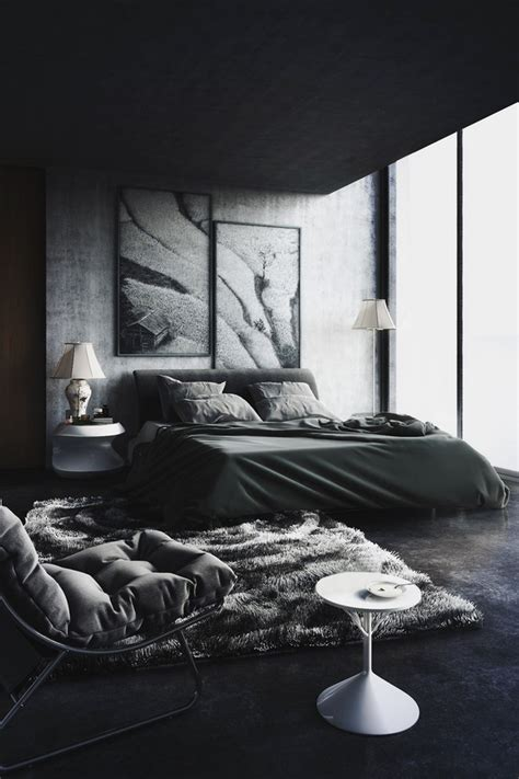 black bedroom black design inspiration for a master bedroom decor